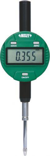 Ceas comparator digital INSIZE 2112-25 F/cu spate plat/rezolutie 0,01mm