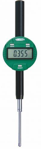 Ceas comparator digital INSIZE 2112-501 F/cu spate plat/rezolutie 0,001mm