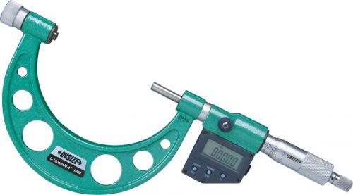 Micrometru digital de precizie cu tije interschimbabile INSIZE 3506-300A/ip54 tip A