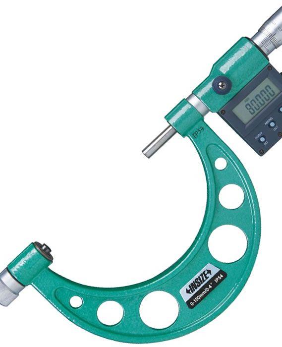 Micrometru digital de precizie cu tije interschimbabile